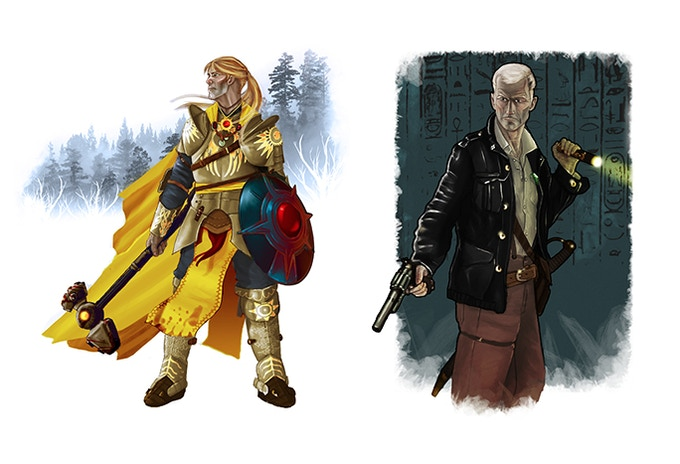 Example Character Illustrations
