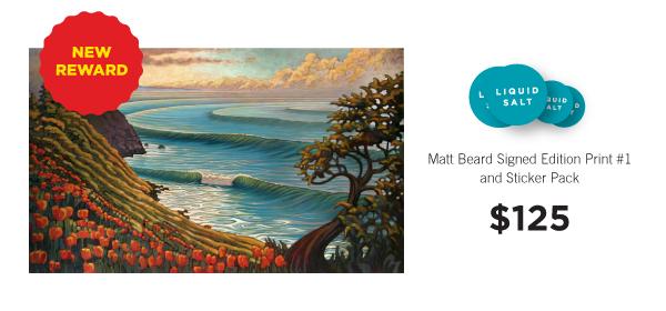 "Matt Beard signed edition print ""California Spring."""