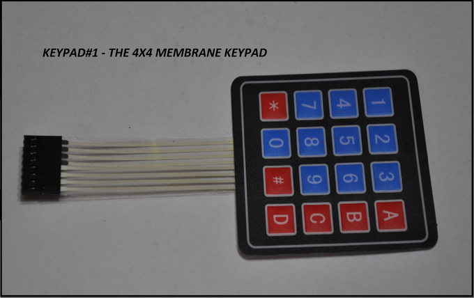 The Arduino Compatible 4x4 Keypad Matrix Processor Set by Patrick