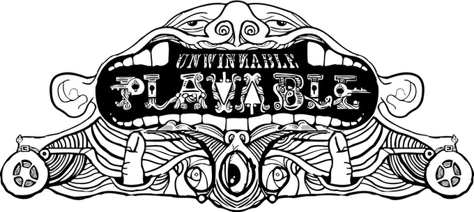 Playable logo re-imagined by Richard Hofmeier