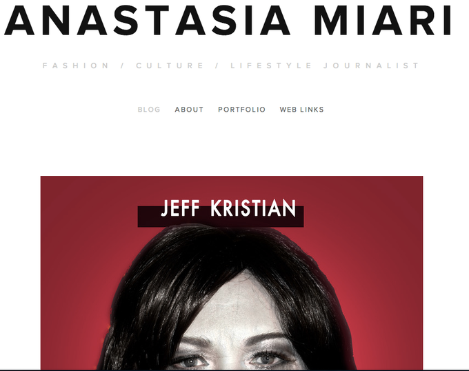 Anastasia Miari's BLOG (Co Producer & Casting Director of OUT)