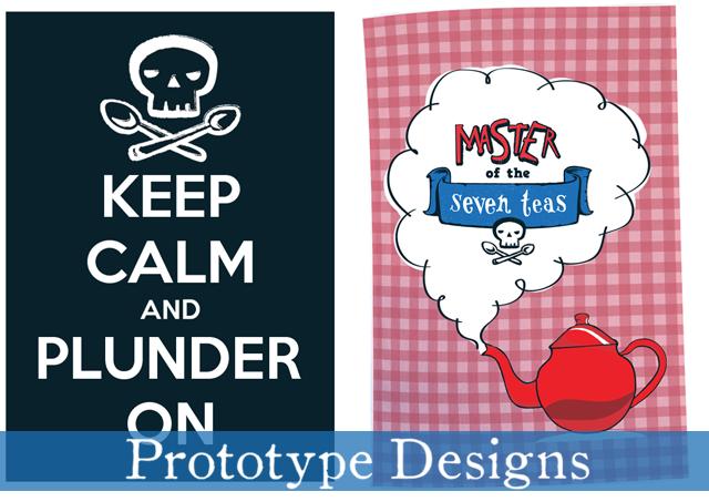 Poster and Tea Towel Designs!