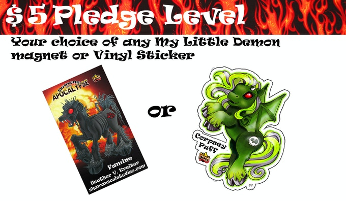 Year Of The Demon The 2015 My Little Demon Calendar By