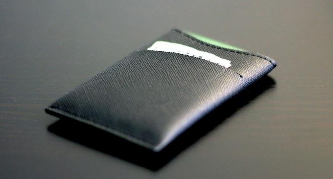 Saffiano Leather - Black