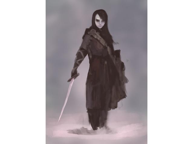 Ghost Concept for Fallen Hero