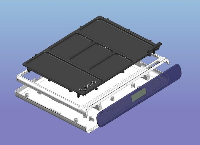 Final Mechanical Design of OCHO Pad Casing