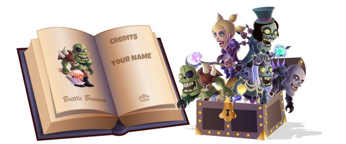 The InDee Toons Bestiary and a chest full of toons. And it could be ALL YOURS...