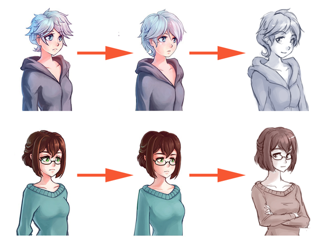 Evolution of the art style, we're always taking feedback into account!