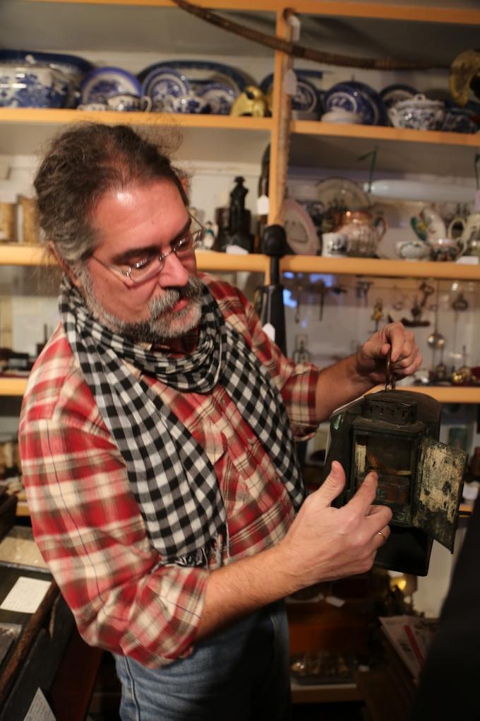 Jack Fritsch of Nantucket's Antiques Depot