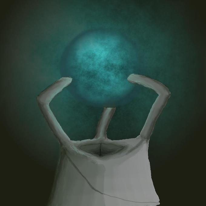 Concept art of minion portal by p0ss