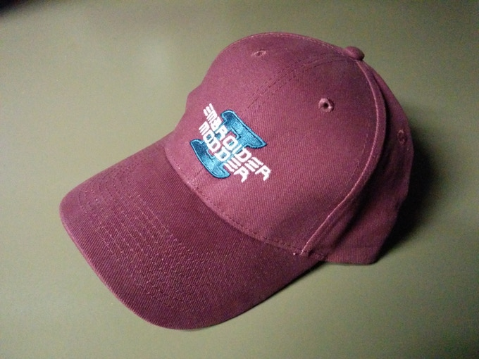 Maroon cap also available for backers of clothing rewards (add $25 to your pledge)