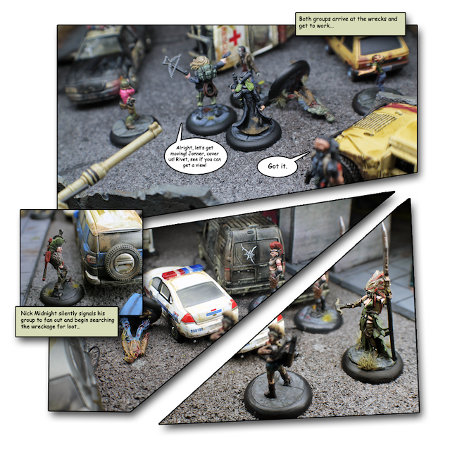 Zed Or Alive The Zombie Miniatures Game By Rust Devil