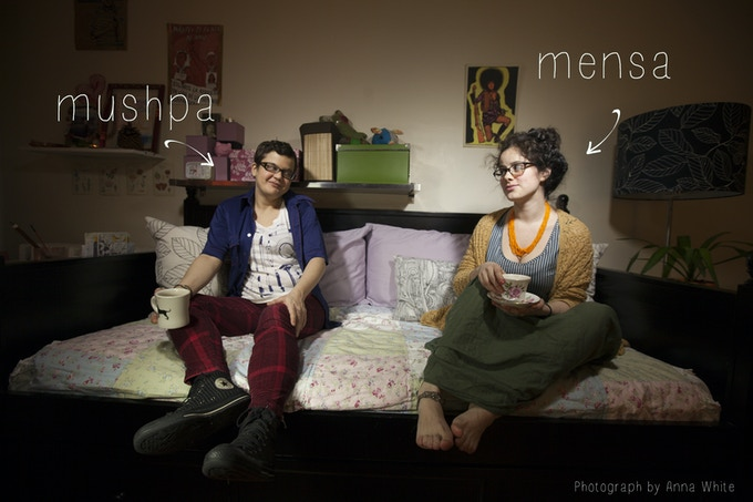 Mushpa y Mensa: a small team with big dreams