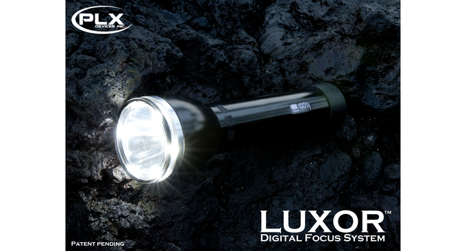 Luxor - The world's first digital focusing flashlight.