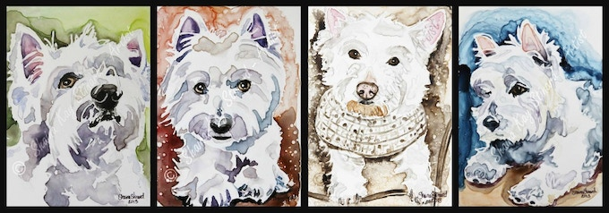 A family of rescued Westies!