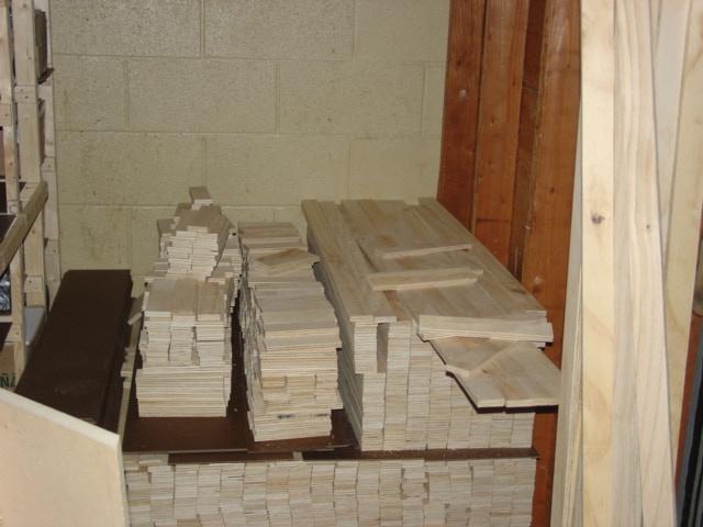 Materials for crates