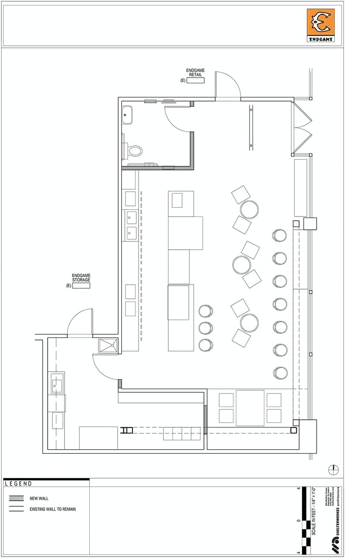 Plans for the New Café