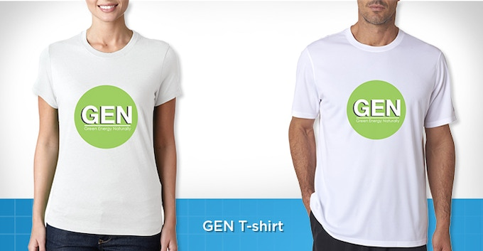Eco-Friendly GEN T-shirts: Durable, comfortable, and great looking.