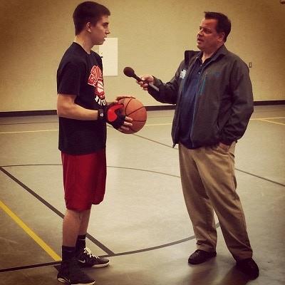 Shoot Natural user Parker Keltner being interviewed by KOIN 6 sports! 3/21/2014
