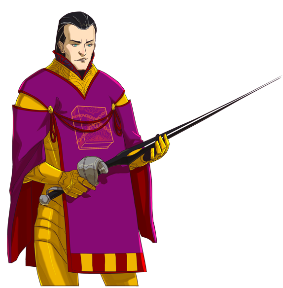 The Emperor Litacus Namicus III. He is an antagonist seen in multiple playthroughs. What is his goal?