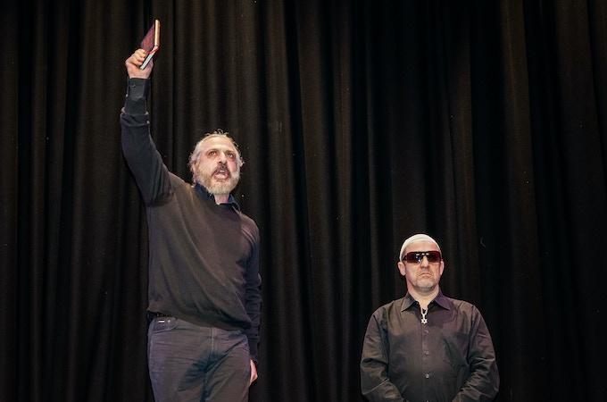 Nigel Lindsay & Andreas Karras in Development Workshop