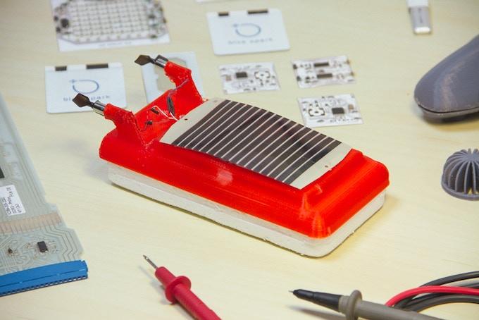 Solar powered 3D printed hovercraft!
