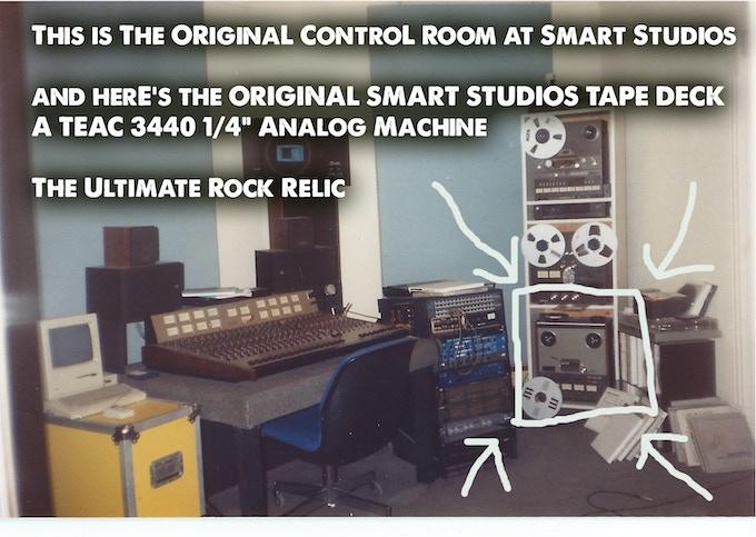 Original Smart Studios control room