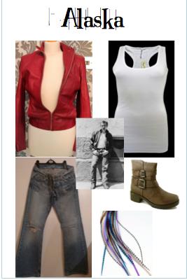 Alaska's costume is based on James Dean.