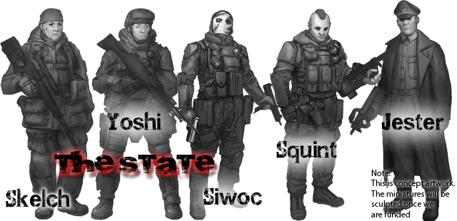 The State - unlocked and free at Loyalist and above