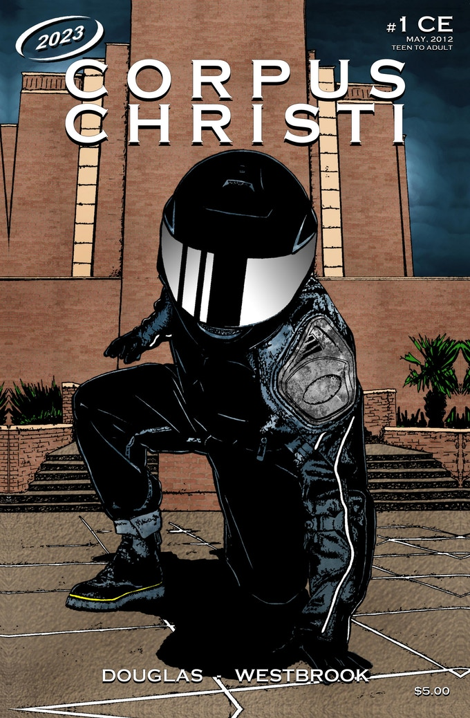 Original cover for the collector's edition of CORPUS CHRISTI #1.