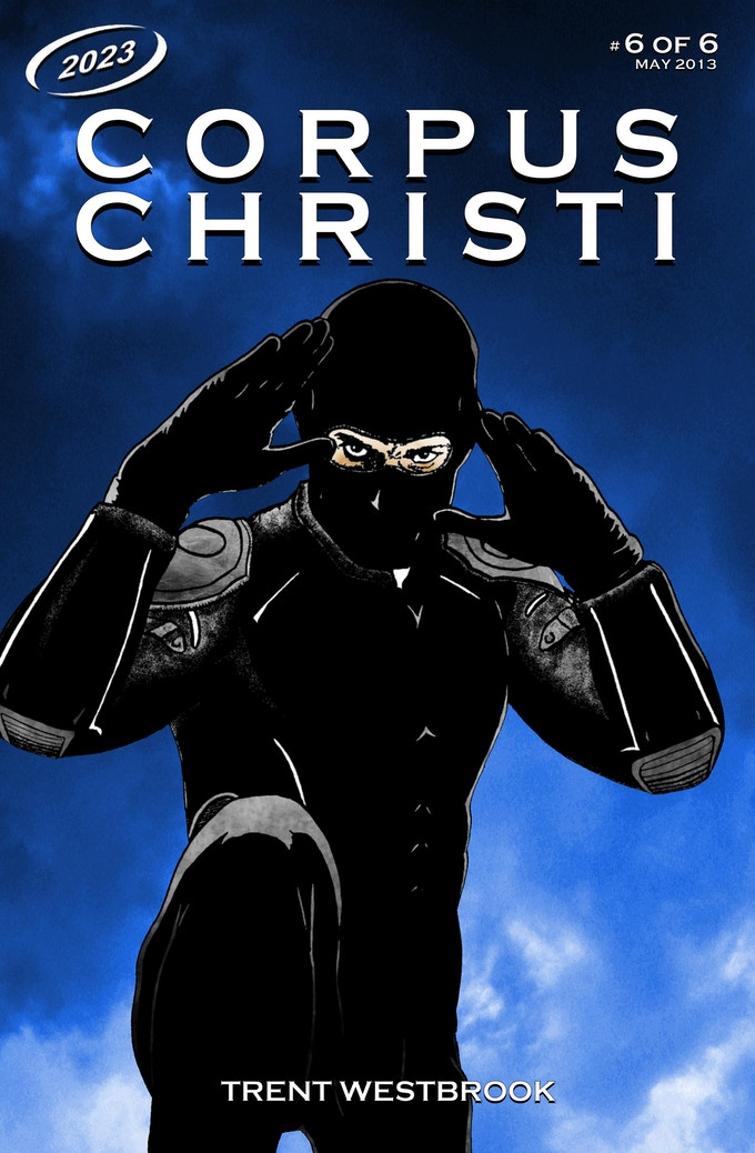 Original cover for CORPUS CHRISTI #6.