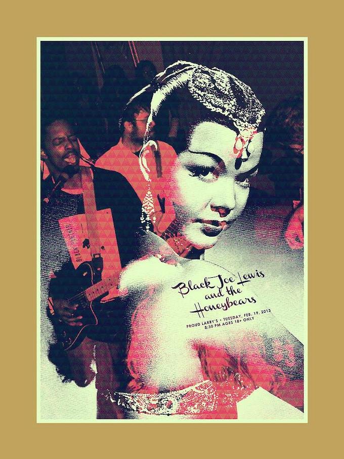 Black Joe Lewis & the Honeybears poster