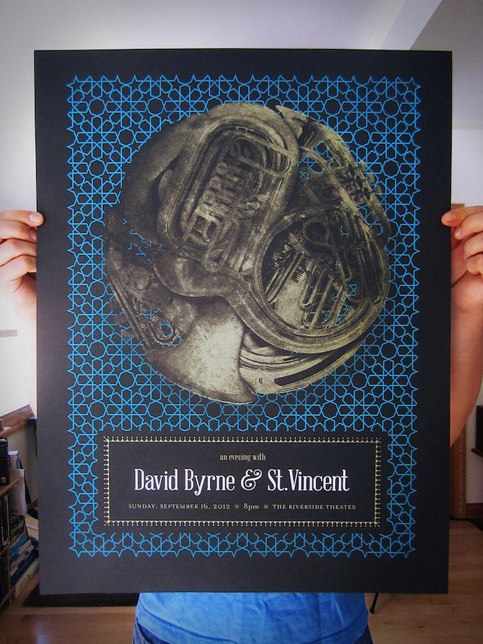David Byrne & St. Vincent Poster