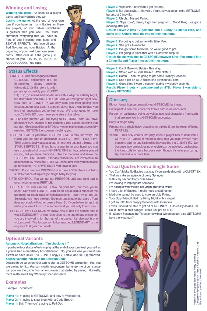 Rule book Page 2