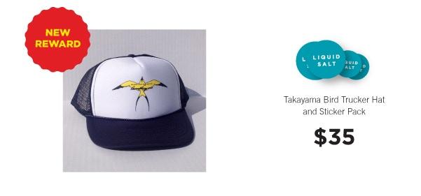 Donald Takayama Bird Trucker Hat.