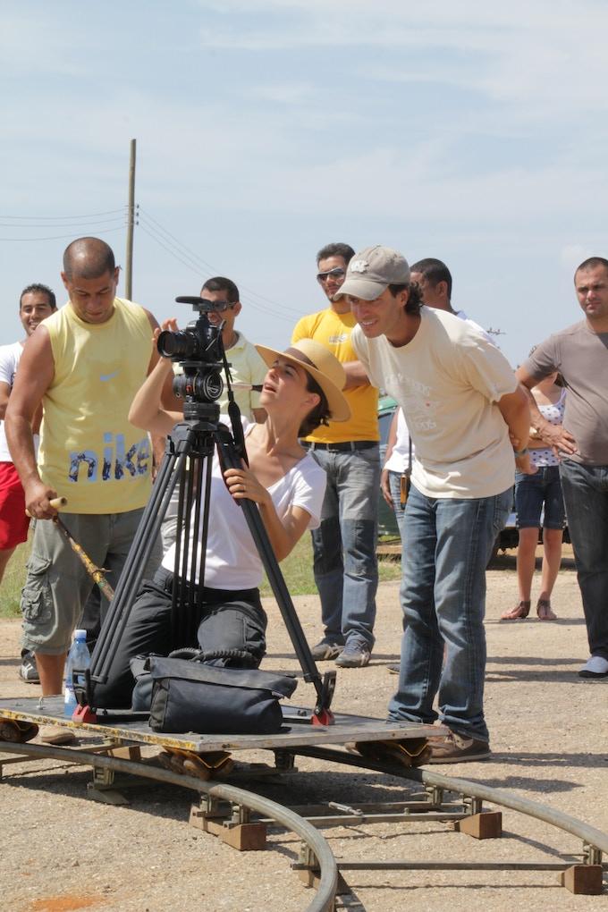 Director / Producer Bent-Jorgen Perlmutt with Cinematographer / Producer Zelmira Gainza