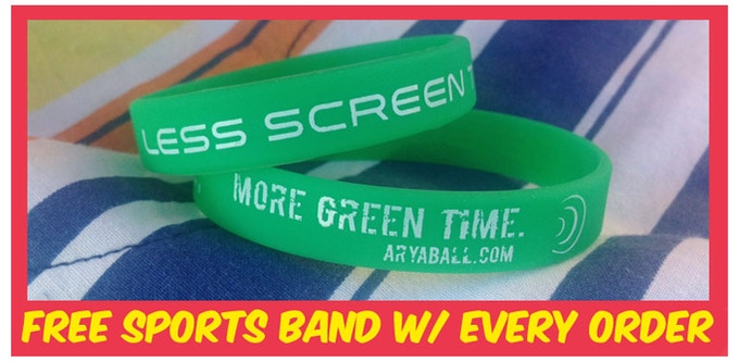 """Show your support for the green movement, """"less screen time, more green time!"""" Available in adult and youth sizes."""