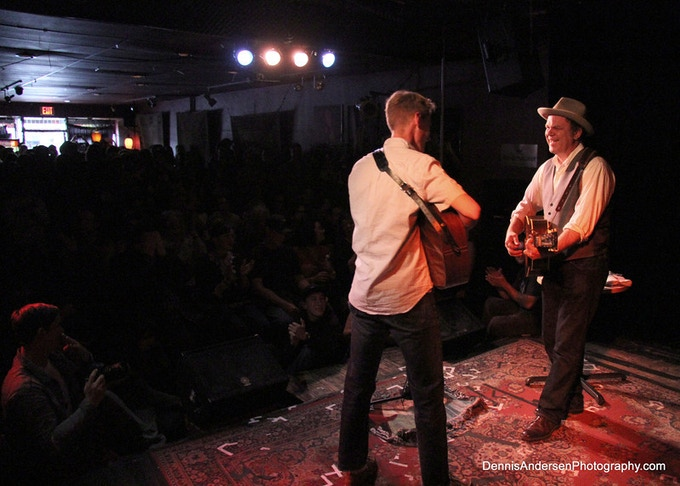 Tom Brosseau & John C. Reilly playing Unplugged 2012
