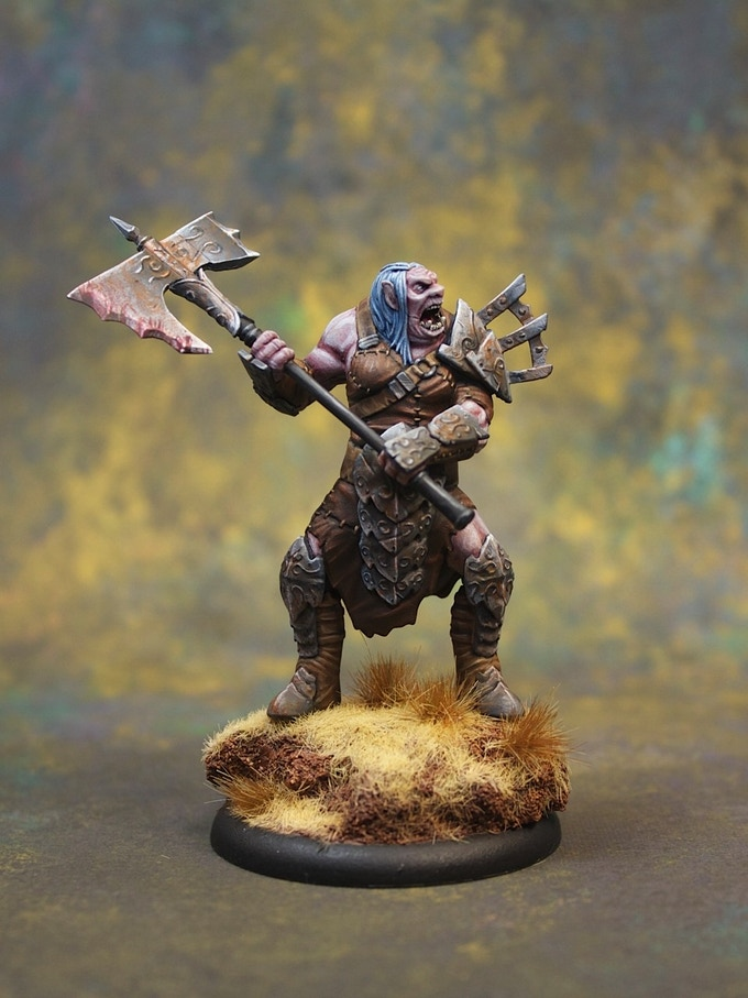 Finished production quality Shadow Hold Troll (Female, Front)