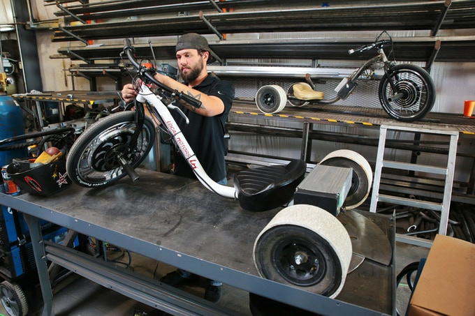 Verrado Electric Drift Trike by Local Motors by Local Motors