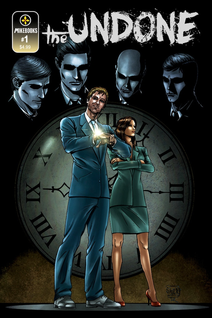 The Undone #1 Cover: Art by Soussherpa & Todd Rayner