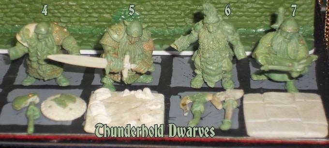 Thunderhold Dwarves #4-7