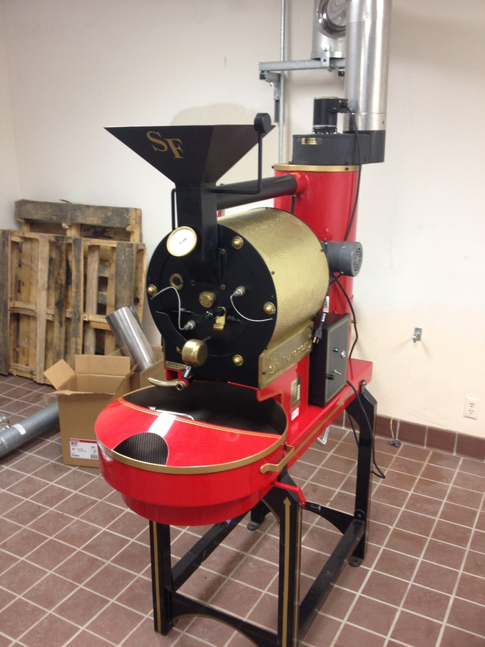 The roaster in our new facility!