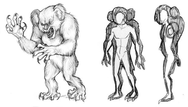 Giant 'Alpha' Drop Bear Concept Designs