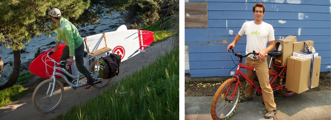 Ben Sarrazin left Xtracycle to start his own cargo bike business, the fast-growing Yuba Bicycles..
