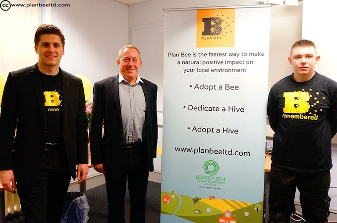 Plan Bee boys getting involved in our Green Legacy project