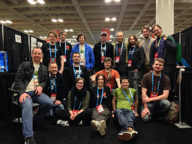 Here is a group photo of some of the Norwegian Indie devs at GDC 2014