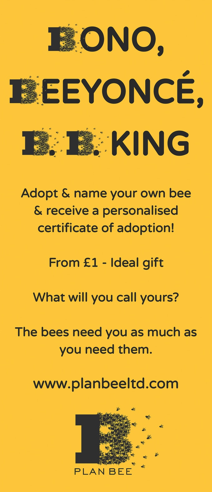 Adopt a Bee today!