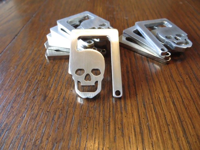 walking dead style bottle opener key chain by alice hocker kickstarter. Black Bedroom Furniture Sets. Home Design Ideas
