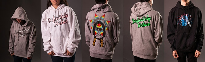 A Few Of Our Hoodies
